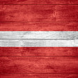 Flag of Latvia — Stock Photo