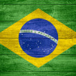 Stock Photo: Flag of Brazil