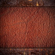 Brown leather background — Stock Photo