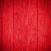 Old planks wooden red background — Stock Photo