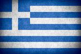Bandeira da grécia — Foto Stock
