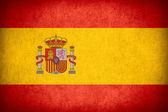 Vlag van Spanje voeren — Stockfoto
