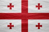 Flaga stanowa georgii — Zdjęcie stockowe