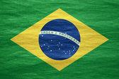 Flag of Brazil — Stock Photo