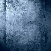 Fundo azul metal — Foto Stock