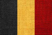 Bandeira da bélgica — Fotografia Stock