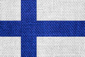 Bandeira da finlândia — Fotografia Stock