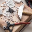 Marble cutting — Stock Photo #21811617