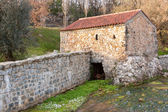 Old Mill Rebuilt, powered by water, in Portugal — Stock Photo