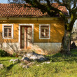 Old Rural House Facade — Stock Photo