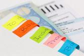 Documentos de factura — Foto de Stock