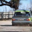 Stock Photo: LEIRIA, PORTUGAL - FEBRUARY 2: Alberto Pereirdrives BMW 1602 during 2013 Amateur Winter Rally, in Leiria, Portugal on February 2, 2013.