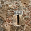 Ancient Facade Window — Stock Photo