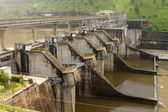 Portuguese hydro power plant — Stock Photo