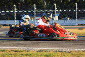 Go Karts Race — Stock Photo