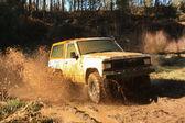 Jeep adventure race — Stock Photo