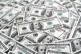 Background with american dollars — Stok fotoğraf