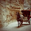 The chariot in the gorge — Stock Photo