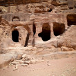 Stock Photo: Cave in Petra