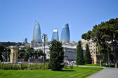 Embankment of Baku — Stock Photo