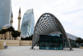 Station of the Baku funicular — Stock Photo