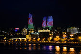 Night Baku — Stock Photo