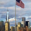 World Trade Center Freedom Tower in Lower Manhattan New York Cit — Stock Photo #47725277