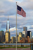World Trade Center Freedom Tower in Lower Manhattan New York Cit — Stock Photo