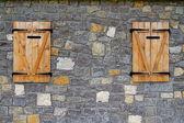 Hintergrund Wand Textur von einer alten Abschnitt-facadec — Stockfoto