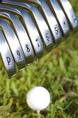 Golf Irons — Stock Photo