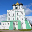 Troitckiy cathedral in Pskov. — 图库照片