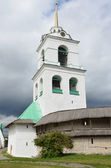 The bell tower of the Troitckiy cathedral in Pskov. — Foto Stock