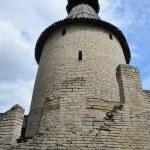 The defensive tower of Pskov kremlin. — Stock Photo