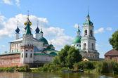Panorama de rostov. anneau d'or de la Russie. — Photo