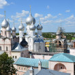 Panoramof Rostov. Golden ring of Russia. — Stock Photo #12624130