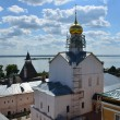 Panoramof Rostov. Golden ring of Russia. — Stock Photo #12648586