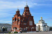 Panorama of Vladimir. Golden ring of Russia. — Stock Photo