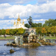 St. Petersburg. Fountains of Petergof. — Stock Photo