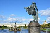 St. Petersburg. Fountains of Petergof. — Stock Photo