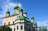 佩 zalesskiy 的全景。俄罗斯金环. — 图库照片