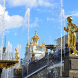 Stock Photo: St. Petersburg. Fountains of Petergof.