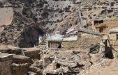 ネパール、アンナプルナ周囲トレッキングします。古い村 giaru. — ストック写真