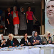 Turkish women campaigning to join the ruling party. — Stock Photo