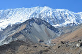 Nepal, trekking en anapurna. — Foto de Stock