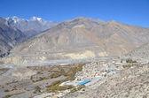 Nepal, trekking around Anapurna. Jomsom. — 图库照片