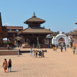 Nepal, Bhaktapur, Durbar square. - Stock Photo