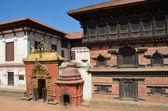 Nepal, Bhaktapur, Durbar square. — Stock Photo