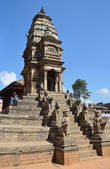 Nepal, Bhaktapur, Durbar square. — Stockfoto