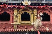Nepal, Kathmandu, Palace of Kumari. — Stock Photo