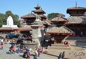 Nepal, Katmandu Durbar square . — 图库照片